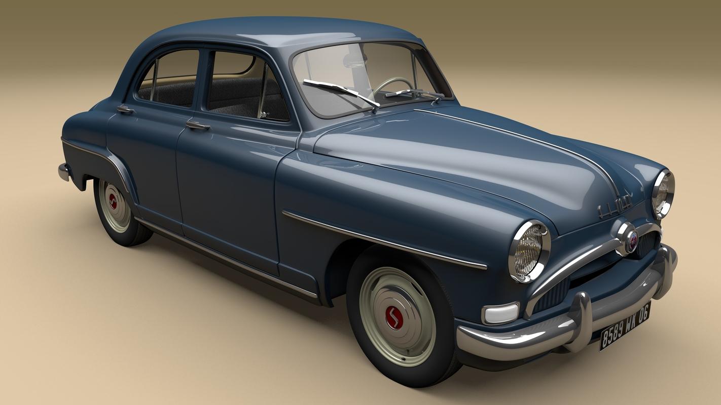 3D aronde 1954 simca
