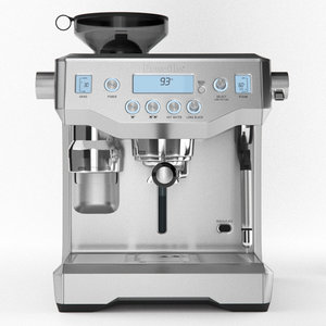 3D coffee machine breville oracle