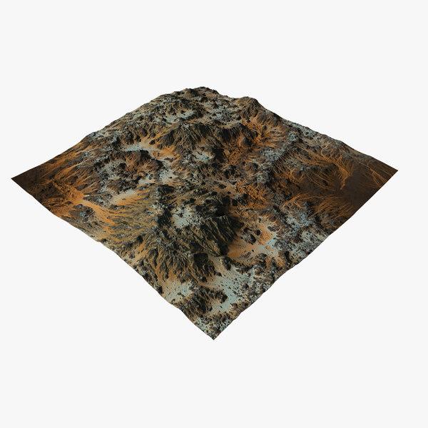 terrain ready 3D model