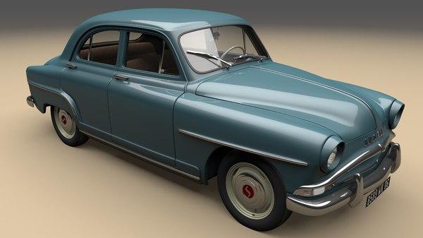 3D aronde 1956 simca