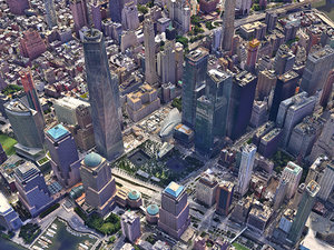 new york city hd 3D model