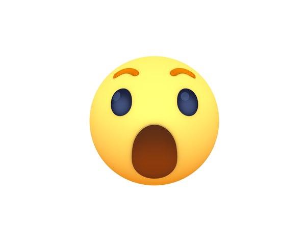 facebook wow reaction button model