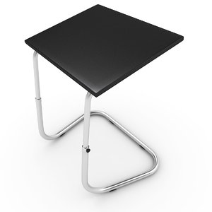 3D model laptop table lap