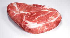 3D steak model