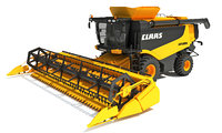 Combine Harvester Claas Lexion