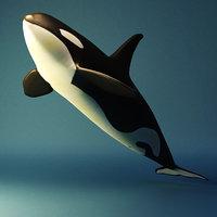 killer whale 3D