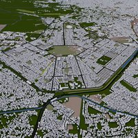 kolkata city 3D