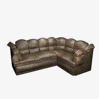 sofa seating furniture 3D model