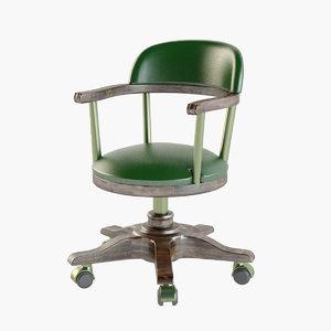 3D model classical chair 2