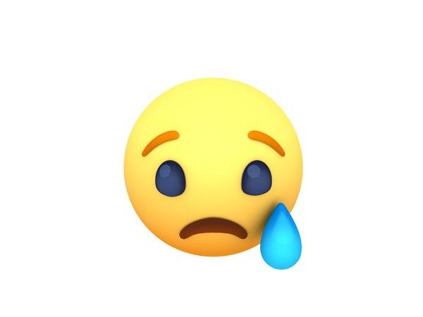 facebook sad reaction button model