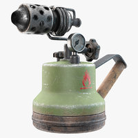 blowtorch torch blow 3D