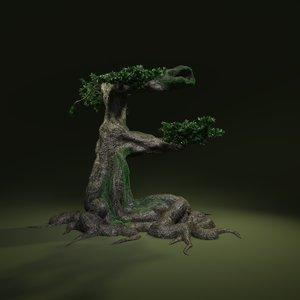 3D tree e model