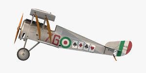 hanriot hd 1 fighter aircraft model