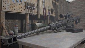pbr rifle model