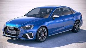 audi s4 sedan 3D model