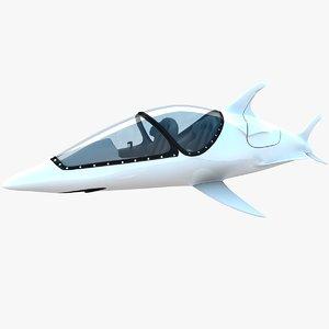 2020 tesla roadster 3D