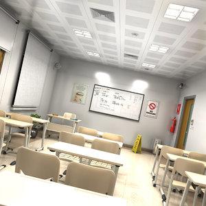 classroom class room model
