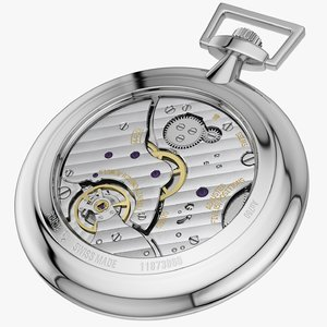 pocket watch mechanism model