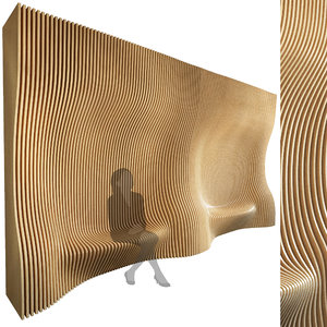 3D parametric wall 006