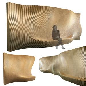 3D parametric wall 001