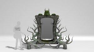 mirror - 3D model