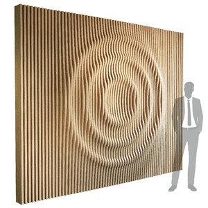 parametric wall 004 3D model