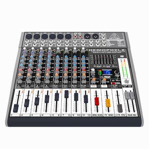 3D premium analog mixer 2 model