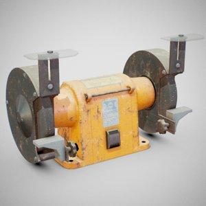 hanning bench grinder - 3D model