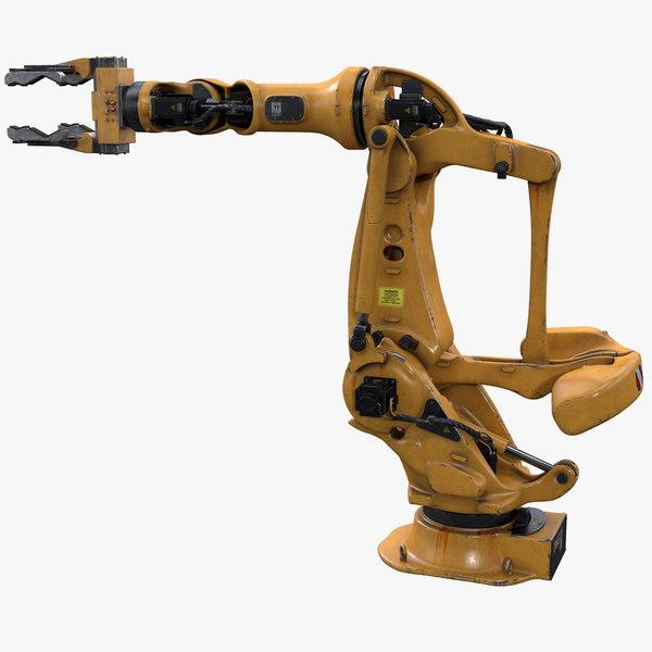 large payload robot gripper 3D model