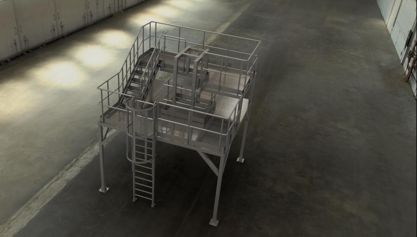 3D service platform model