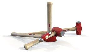 ridgid hammer kit 3D model