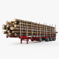 3D logging trailer manac