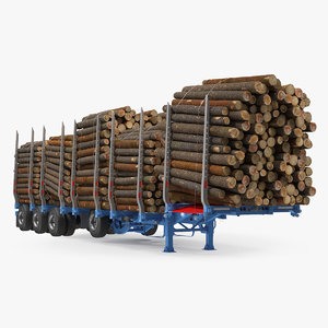 3D logging trailer small