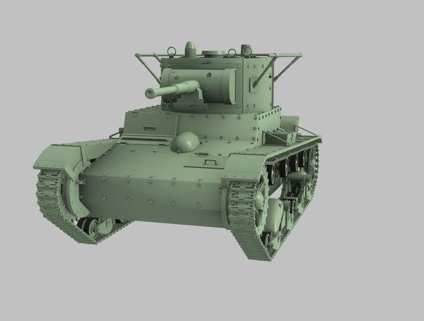 t26 tank model