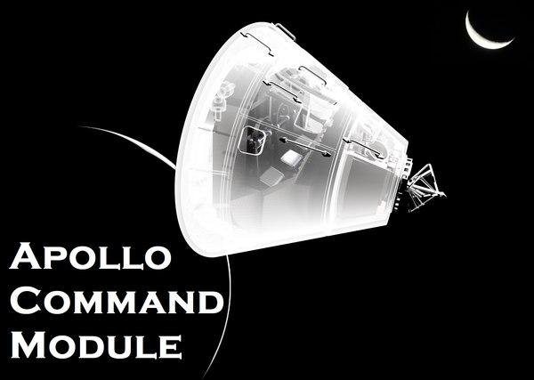 3D apollo command module