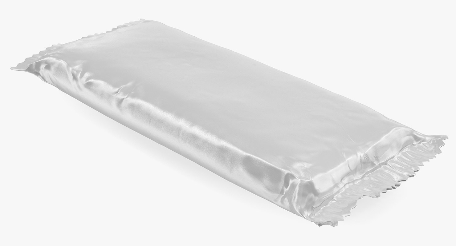 big white papper chocolate bar model