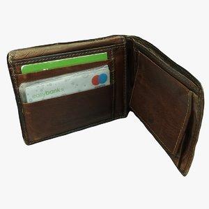 3D old wallet