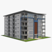 building 14 3D model