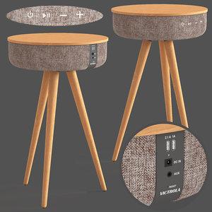 3D bluetooth speaker table victoria