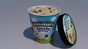 ben ice cream model