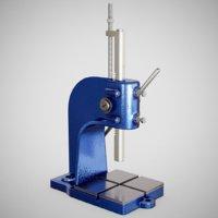 precision bench press tools 3D model