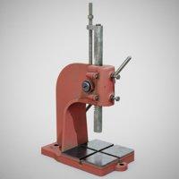 precision bench press using 3D model