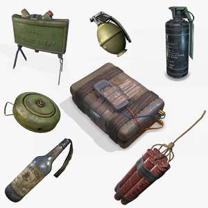 explosive device pbr model