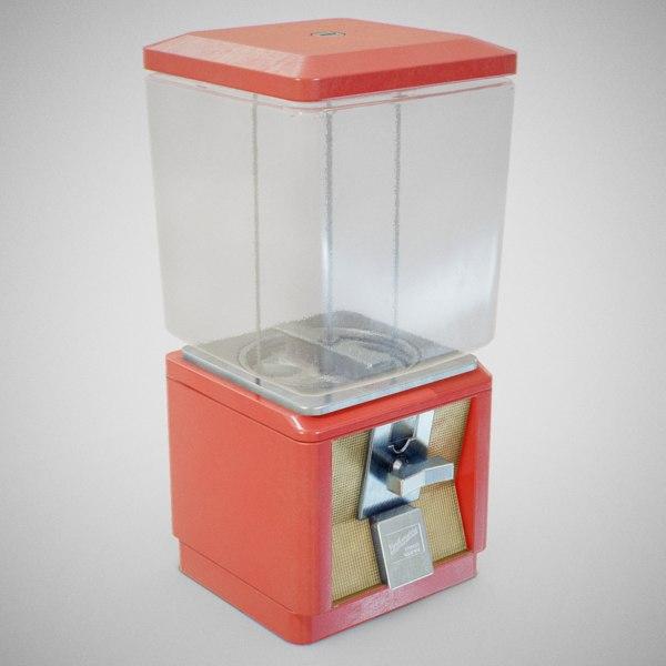 60 candy machine - 3D model