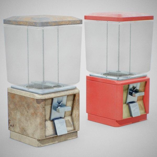 3D 60 candy machine -