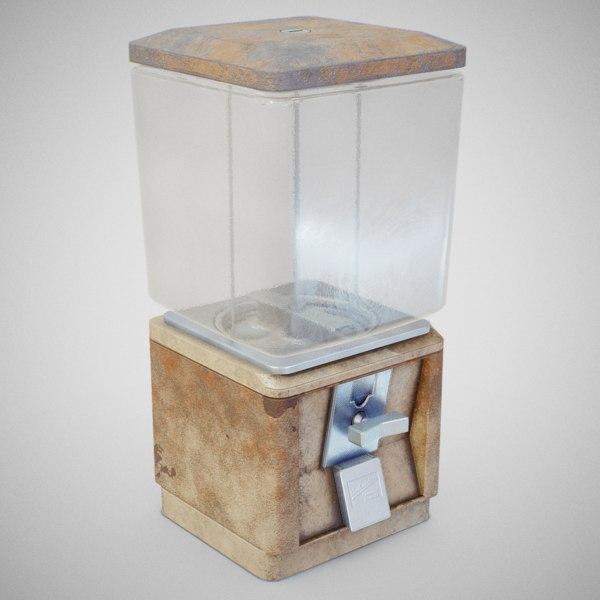 3D model 60 candy machine -
