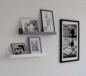 store shelves 3D model