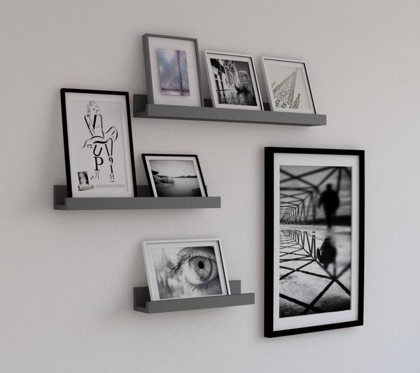 store shelves model