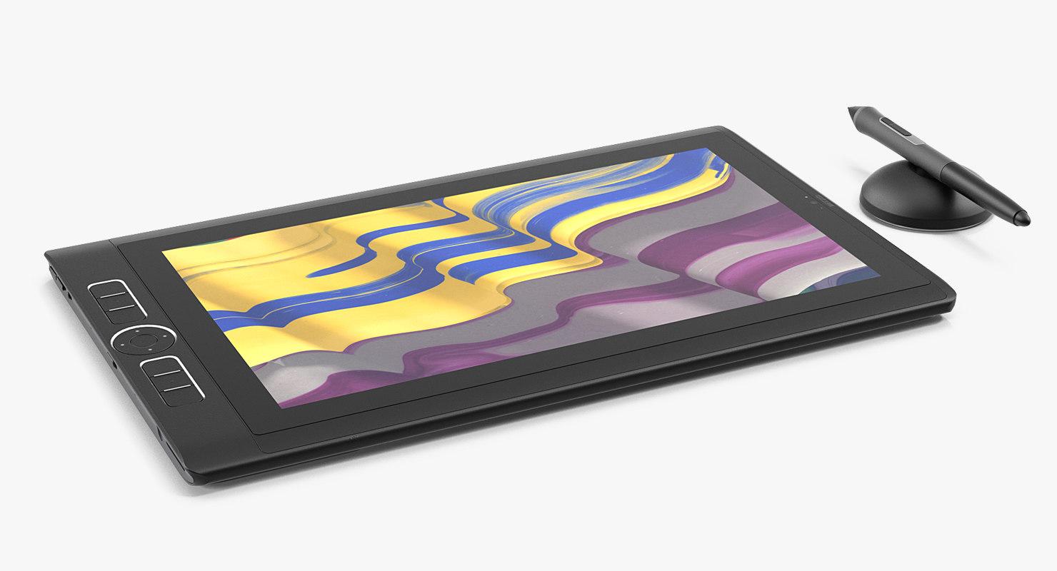 13 inch wacom mobilestudio 3D model