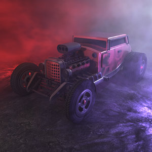 3D concepts unique hot rod model